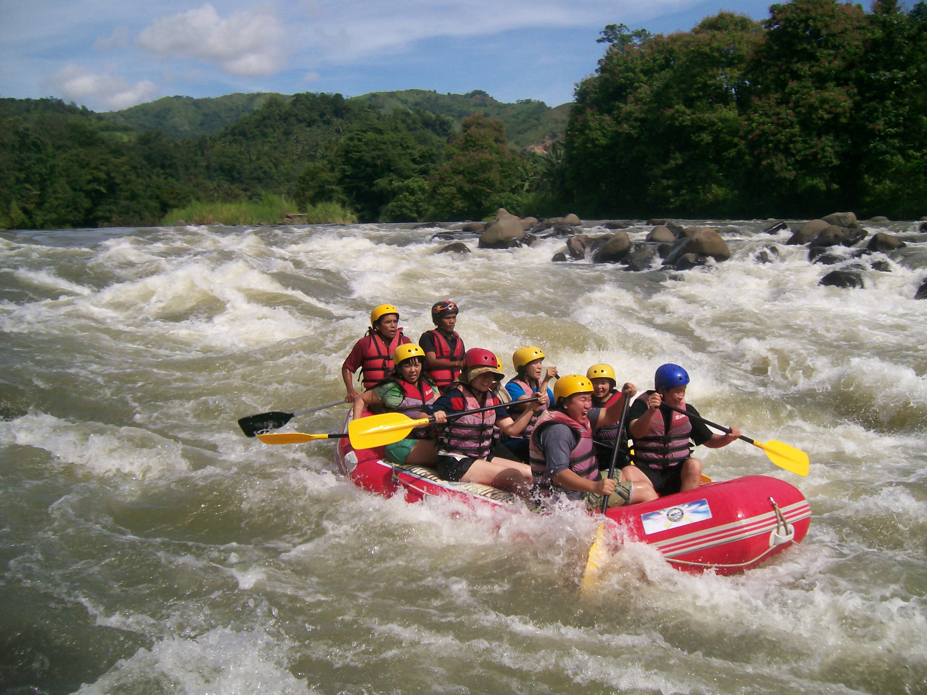 White Water Rafting Cagayan De Oro Philippines